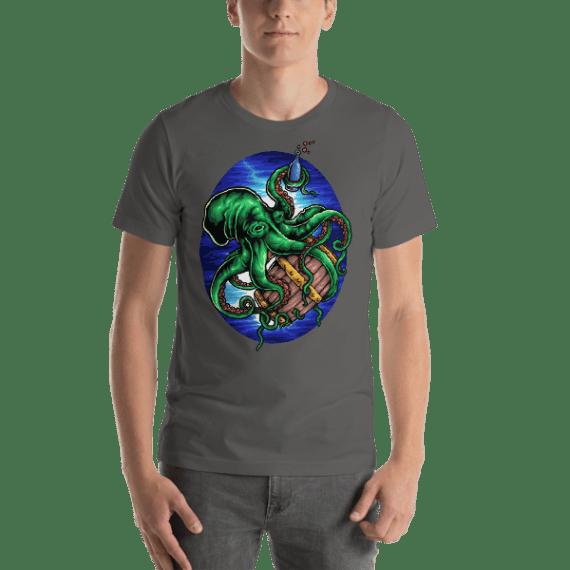 Octopus King Short-Sleeve Unisex T-Shirt