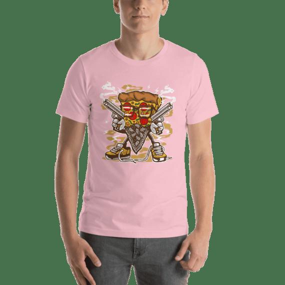 Pizza Gangster Short-Sleeve Unisex T-Shirt