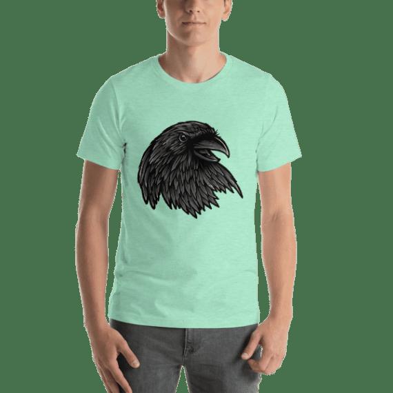 Rise Of The Raven Short Sleeve Unisex T-Shirt