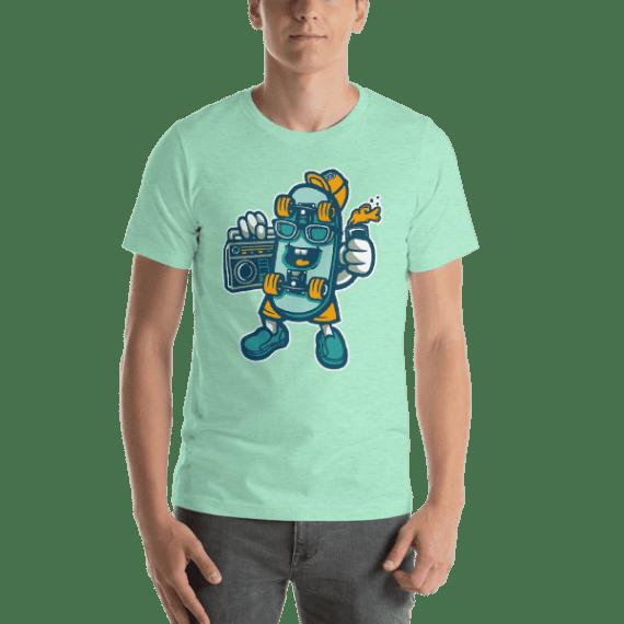 Skate Bastard Short Sleeve Unisex T-Shirt
