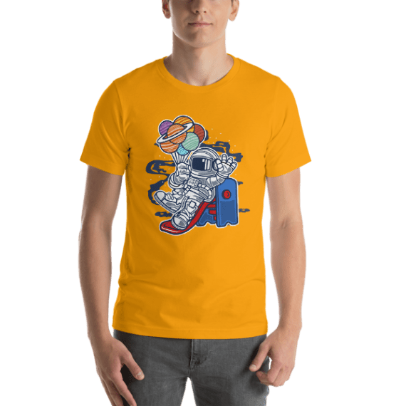 Space Slider Short-Sleeve Unisex T-Shirt