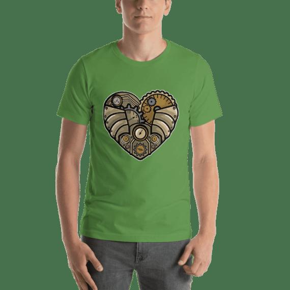 Steampunk Heart Short Sleeve Unisex T-Shirt