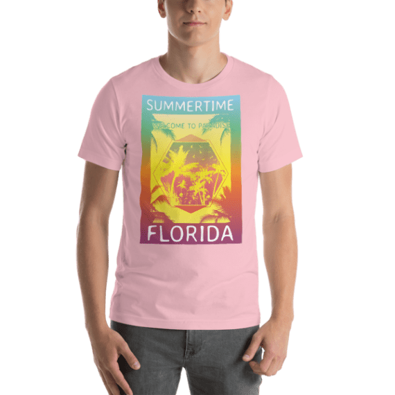 Summertime Short Sleeve Unisex T-Shirt