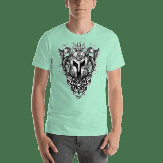 The Armor Of Viking Short Sleeve Unisex T-Shirt
