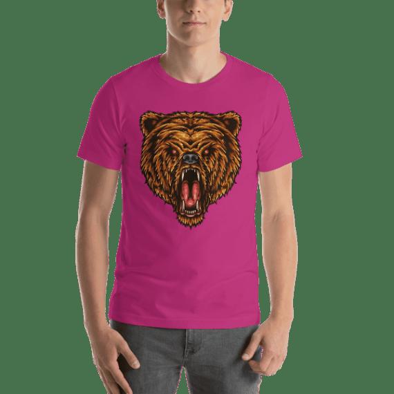 The Great Power Bear Short Sleeve Unisex T-Shirt
