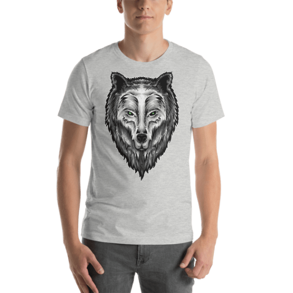 Wolf Guardian Spirit Short Sleeve Unisex T-Shirt