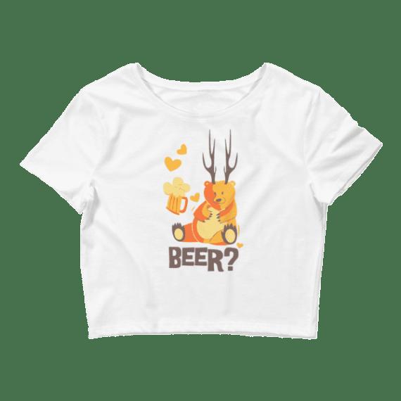 Women's BEER Crop Top