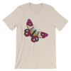 Women's Colorful Spring Butterfly Short Sleeve T-Shirt