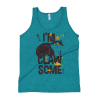 Women's Cute Gift for Crazy Cat Lovers, I'm Clawsome - Funny Tank Top