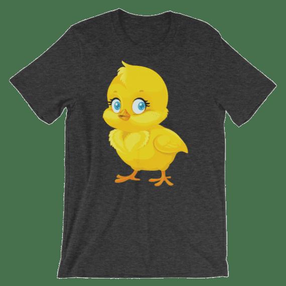 Women's Cute Little Chick Short Sleeve T-Shirt