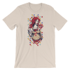 Women's Cute Red Haired Lady Short Sleeve T-Shirt