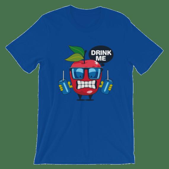 Women's Funny Apple - Drink Me Short Sleeve T-Shirt