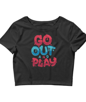 Women's Go Out And Play Crop Top