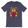 Women's I love tiger Short Sleeve T-Shirt