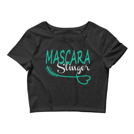 Women's Mascara Slinger Crop Top