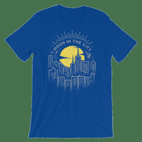 Women's Moon in the City Short Sleeve T-Shirt