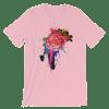 Women's Rose Paint Short Sleeve T-Shirt