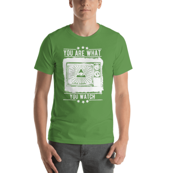 You Are What You Watch Short Sleeve Unisex T-Shirt