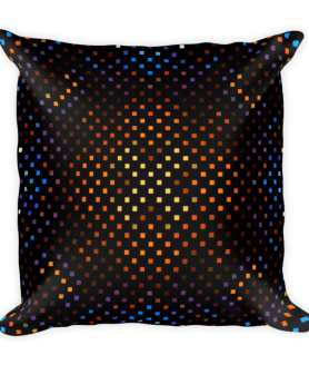 Beautiful Squares Ornament Square Pillow