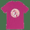 Cute Cartoon Unicorn Short Sleeve Women's T-Shirt