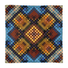 Eastern Mosaic Pattern Square Pillow Case only