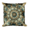 Mosaic Mandala Square Square Pillow