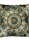 Mosaic Mandala Square Square Pillow