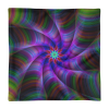 Multicolored Swirl Loop Square Pillow Case only