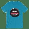 Sexy Black Lips Short Sleeve Women's T-Shirt