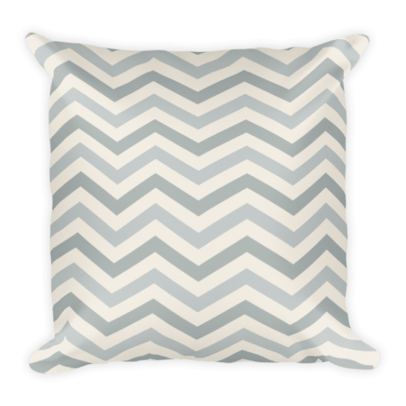 Zig Zag Square Pillow