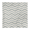 Zig Zag Square Pillow Case only
