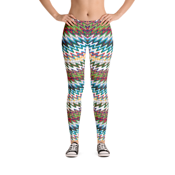 The Best New Trendy Vibrant Leggings