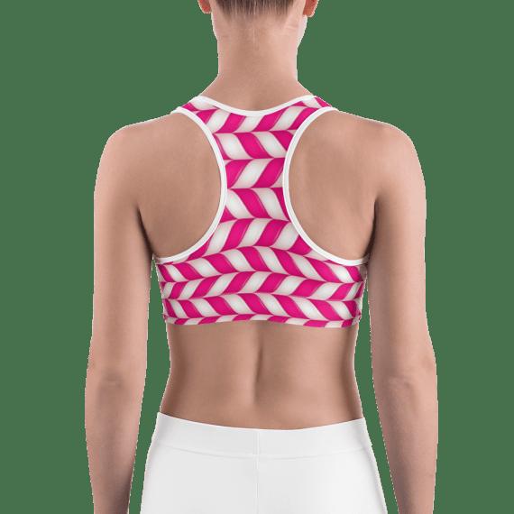 Candy Queen Gym Workout Sports Bra