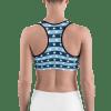 United States Stars and Stripes Gym Workout Sports Bra