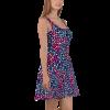 Vibrant Pretty Women's Ornament Skater Dress