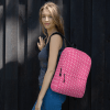 Hot Pink Hearts Backpack - Trendy Eye Catching School Backpack