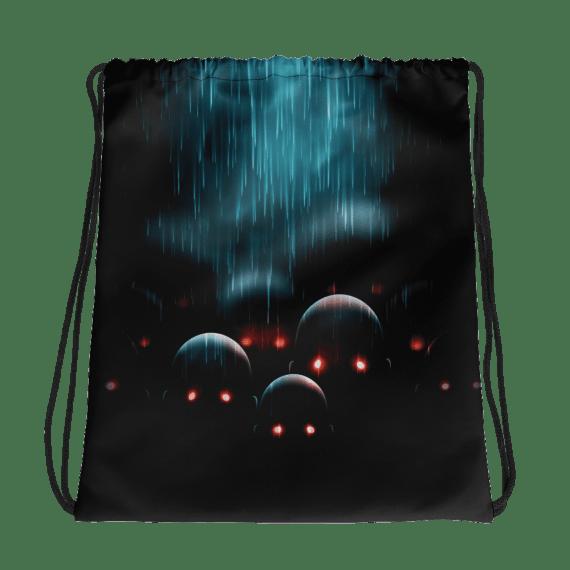 Zombie Apocalypse Horror Drawstring bag