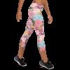 Amazing Flowers and Butterflies Capri Leggings Print/ Ultimate Yoga Leggings, Yoga Pants, Women Tights, Printed Art Leggings, Essentials Women's Standard Workout Leggings, Best Women's Leggings, Affordable Tights, Sport Clothing
