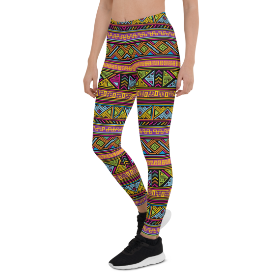 Colorful Soft Classic Fashion Mexican Leggings