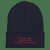 Funny Coronavirus Cuffed Beanie, Social Distance Beanie Hats, Keep your distance Hats, Covid 19 Cuffed Beanie