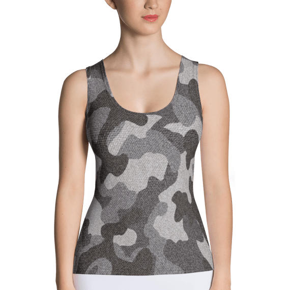 Most Elite Special Military Forces Camo Tank Top - United States Navy Seals Tops