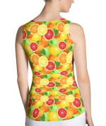 Oranges, Lemons and Limes Citrus Tank Top - Summer Fruits Tank Tops