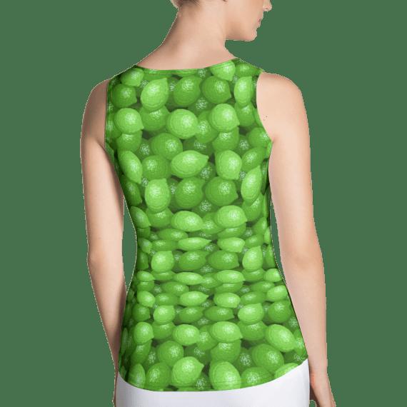 Super Nova Limes Citrus Tank Top - Cute Hipster Fashion Lemon Tank Top
