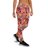Women's Sexy Autumn Leaves Workout Joggers with Pockets, (XS-3XL) Relaxed Fit