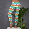 Baby, I like your style Leggings - Colorful Fun Hawaiian Ocean Waves Leggings