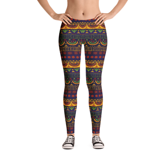 Comfy Customized Butt Lift Leggings - Truly Stunning Striped Must Have Leggings