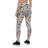 New Chill Out Leggings - Let it Go Leggings - Colorful Wifey Material Leggings
