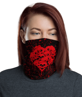 New Love of Death Face Mask, Bandanna, Scarf, Neck Gaiter, Headwear, Headband Hair Cover, Mouth Cover, Nose Cover, Scarves