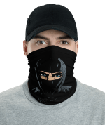 New Ninja Face Mask, Bandanna, Scarf, Neck Gaiter, Headwear, Headband Hair Cover, Mouth Cover, Nose Cover, Scarves