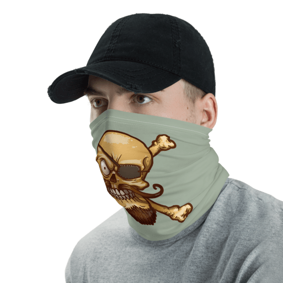 New Pirate Skull Protective Face Mask, Bandanna, Scarf, Neck Gaiter, Headwear, Headband Hair Cover, Mouth Cover, Nose Cover, Scarves